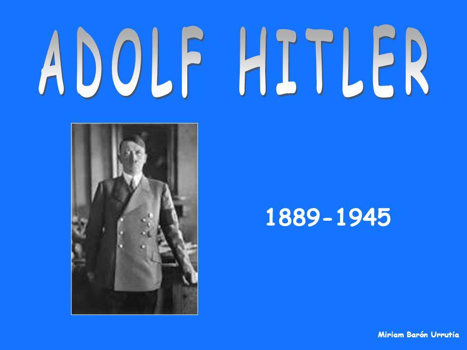 ÍNDICE: 1.Biografía 2.República de Weimar 3.NSDAP 4.1923, Putsch de Múnich.