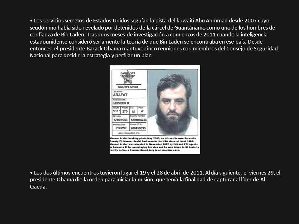 Los servicios secretos de Estados Unidos seguían la pista del kuwaití Abu Ahmmad desde 2007 cuyo seudónimo había sido revelado por detenidos de la cár