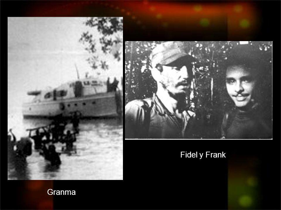 Granma Fidel y Frank