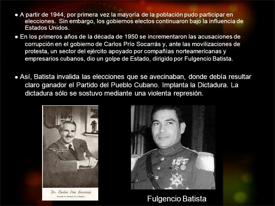 Fidel Castro: actual presidente (dictador) de Cuba y principal revolucionario.