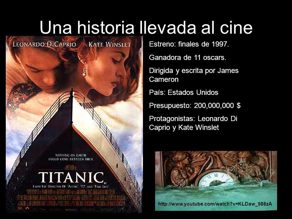 Una historia llevada al cine Estreno: finales de 1997.