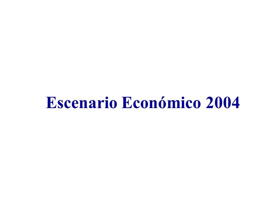 Escenario Económico 2004