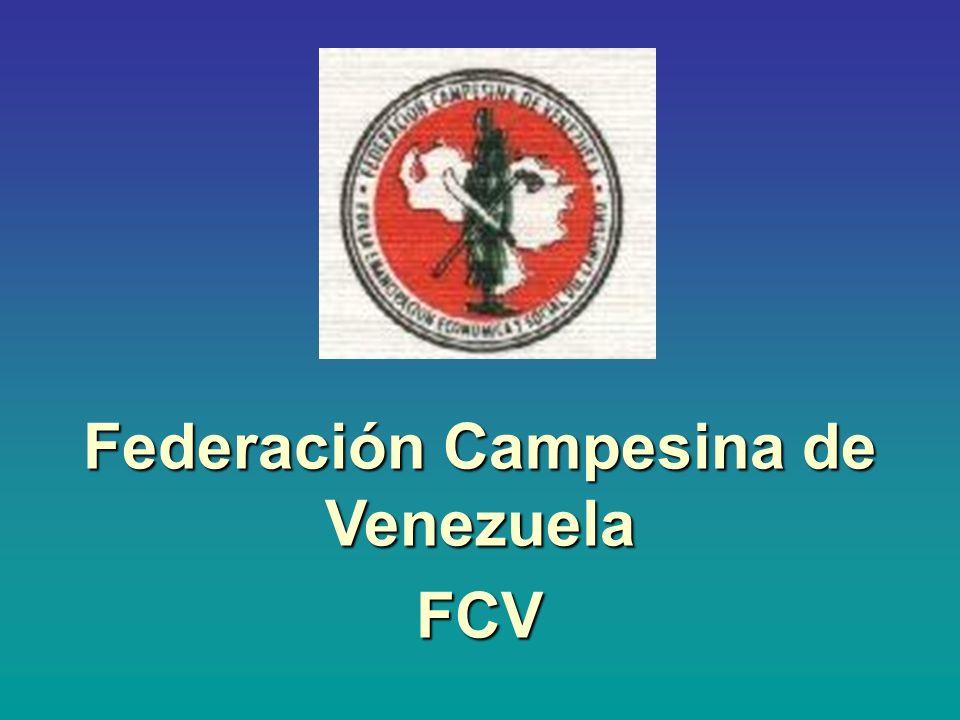 Federación Campesina de Venezuela FCV