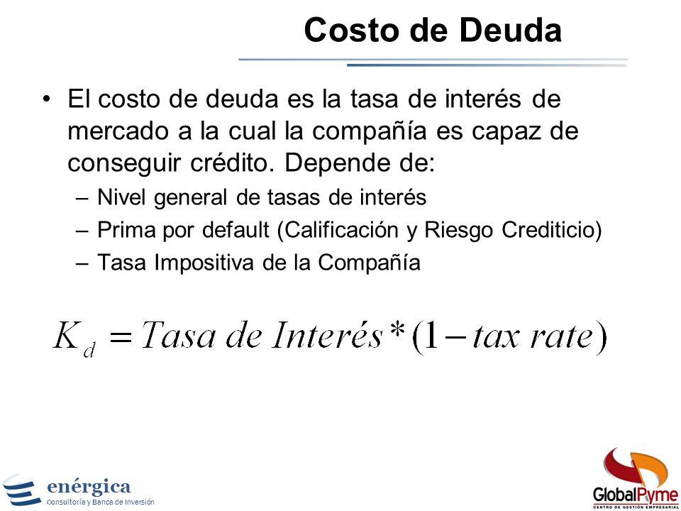 enérgica Consultoría y Banca de Inversión Que es Deuda ? En general, la deuda tiene las siguientes características: –Compromiso de hacer pagos fijos e