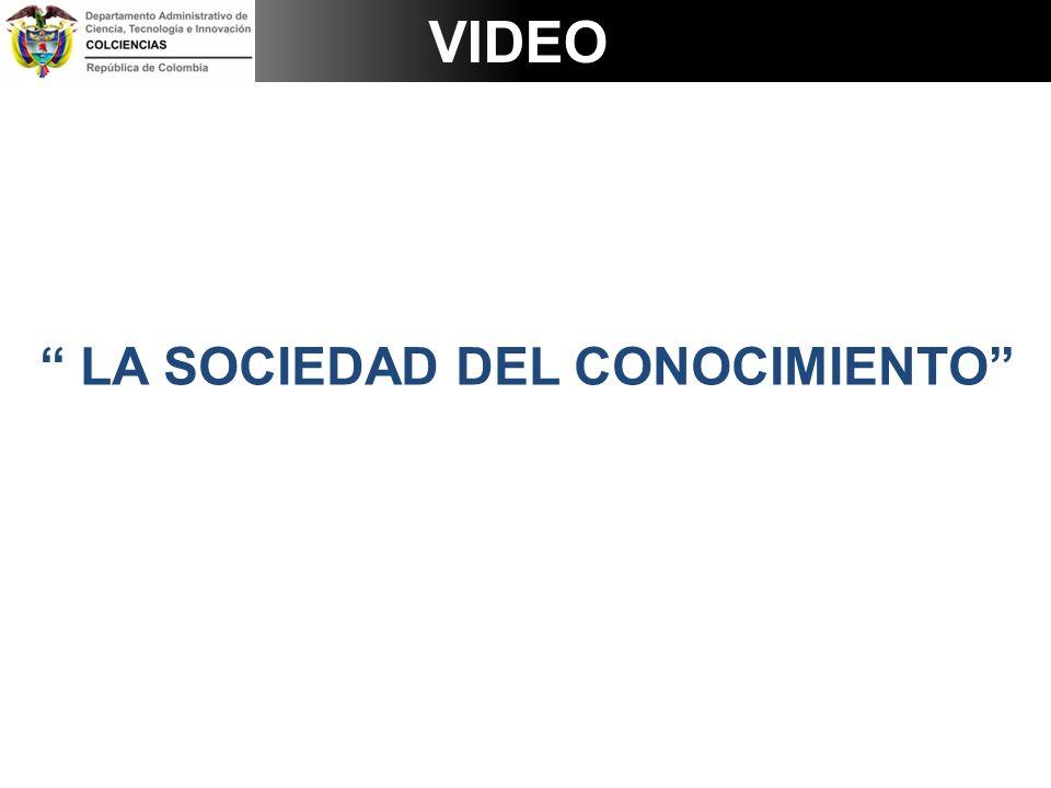LA SOCIEDAD DEL CONOCIMIENTO VIDEO
