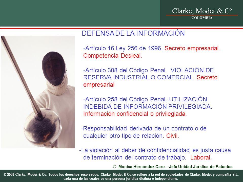 © 2008 Clarke, Modet & Co. Todos los derechos reservados.