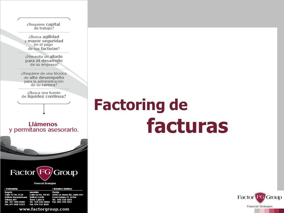 Factoring de facturas