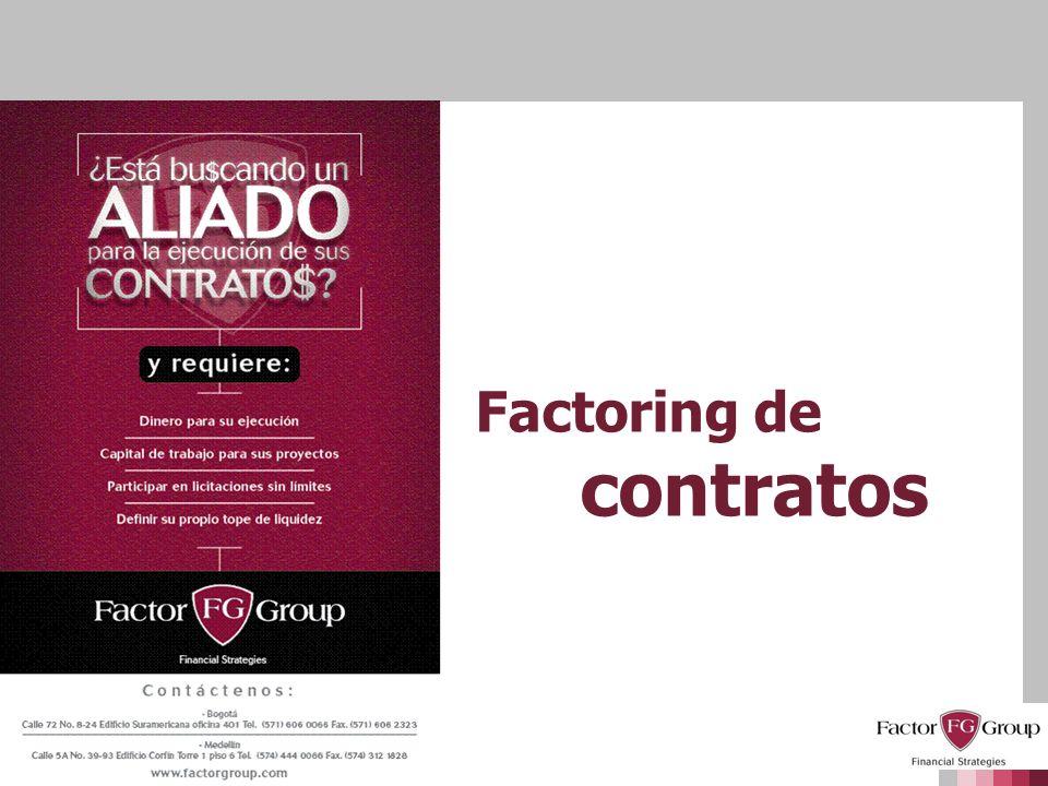 Factoring de contratos