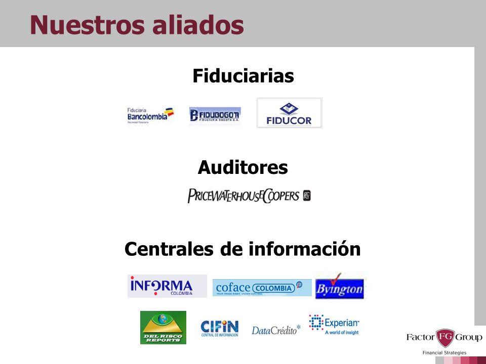 Fiduciarias Auditores Centrales de información
