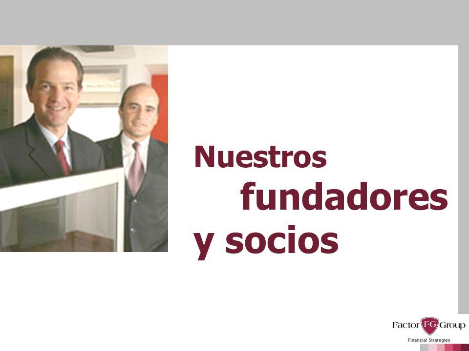 Nuestros fundadores y socios