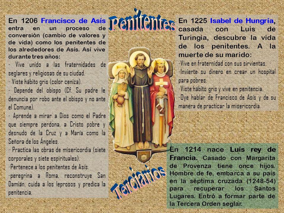 En 1214 nace Luís rey de Francia. Casado con Margarita de Provenza tiene once hijos. Hombre de fe, embarca a su país en la séptima cruzada (1248-54) p