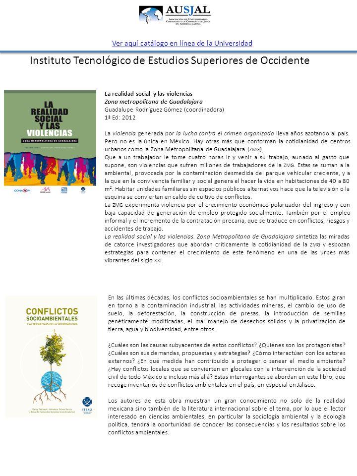 La realidad social y las violencias Zona metropolitana de Guadalajara Guadalupe Rodríguez Gómez (coordinadora) 1ª Ed: 2012 La violencia generada por l