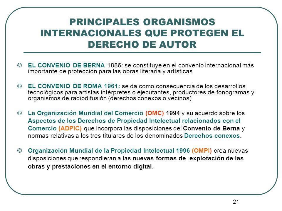 22 II.¿CÓMO SE PROTEGEN LAS OBRAS, INTERPRETACIONES Y FONOGRAMAS EN COLOMBIA.