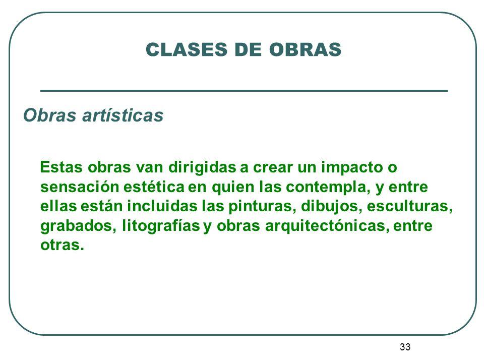 34 CLASES DE OBRAS 2.