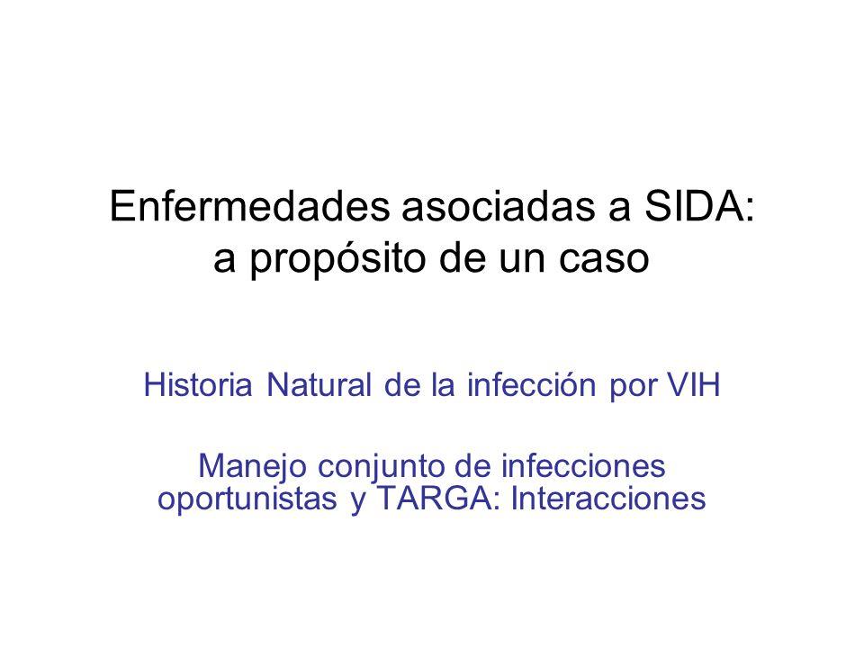 Paciente con infección por VIH estadio B3 con pancitopenia