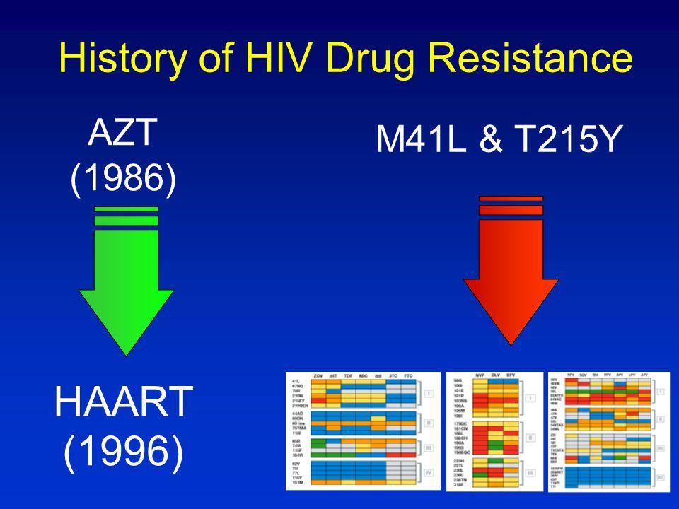 Resistance mutations at Hospital Carlos III De Mendoza et al. ARHR 2007 NRTI NNRTI PI