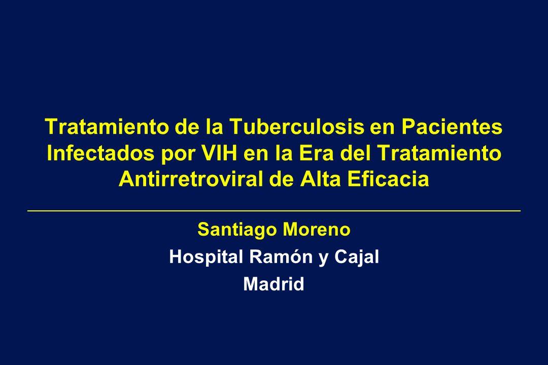 2 Paciente con TB activa No T.A.R.V.T.A.R.V. no recomendado T.A.R.V.