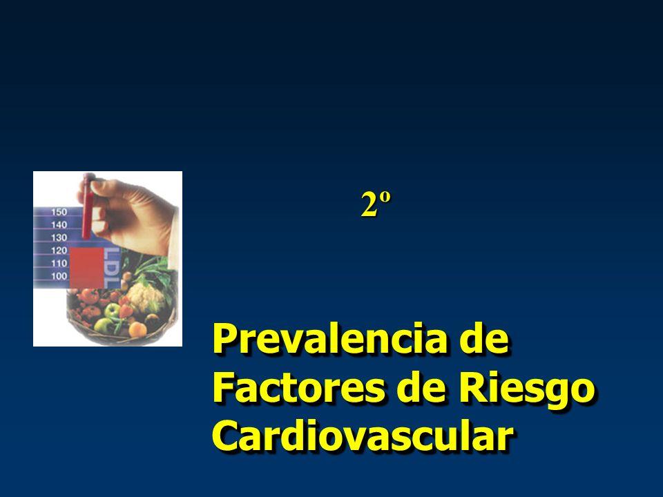 Prevalencia de Factores de Riesgo Cardiovascular 2º