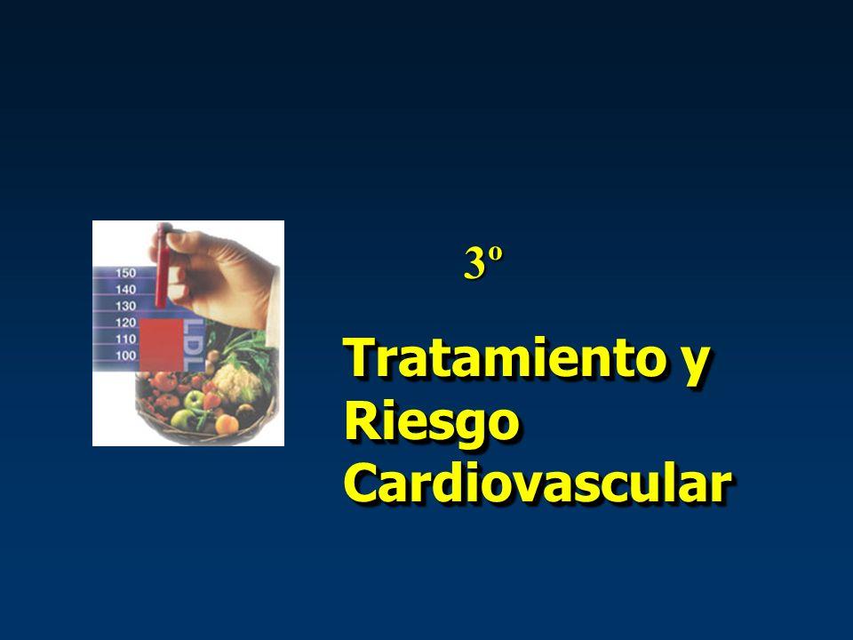 Tratamiento y Riesgo Cardiovascular 3º