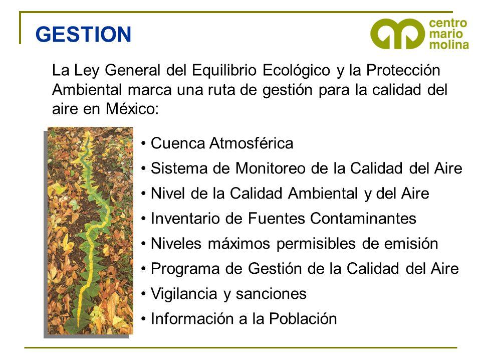 Cuenca Atmosférica Sistema de Monitoreo de la Calidad del Aire Nivel de la Calidad Ambiental y del Aire Inventario de Fuentes Contaminantes Niveles má