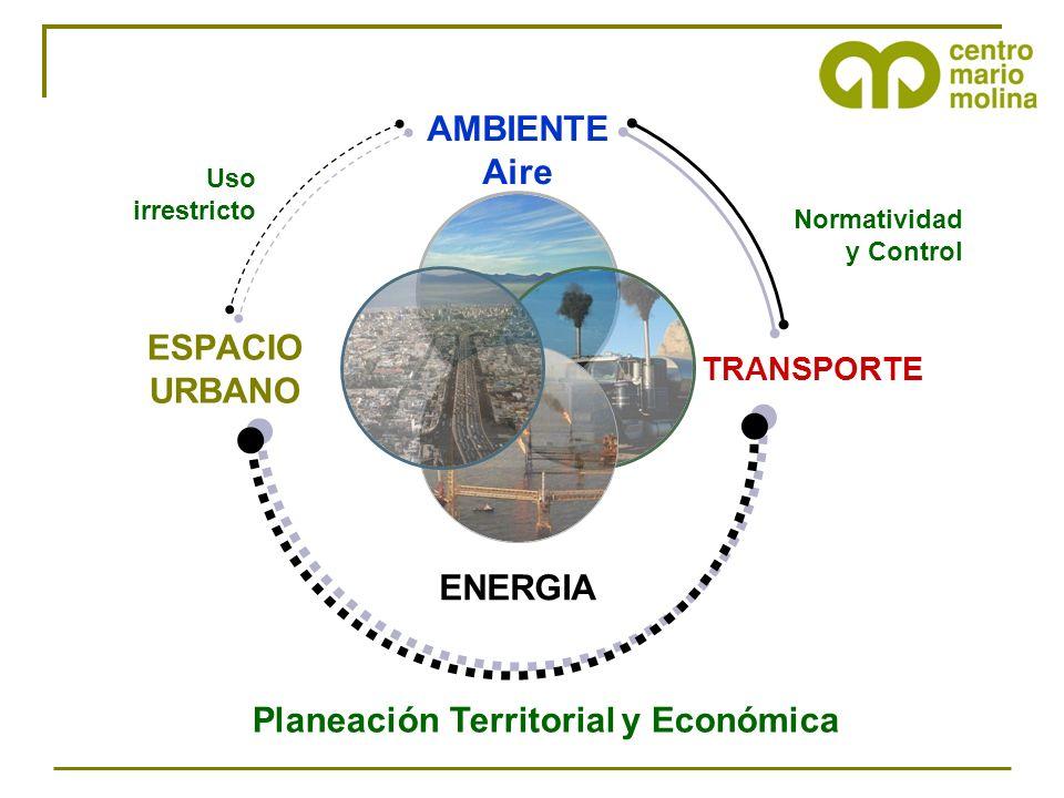 Normatividad y Control Uso irrestricto Planeación Territorial y Económica
