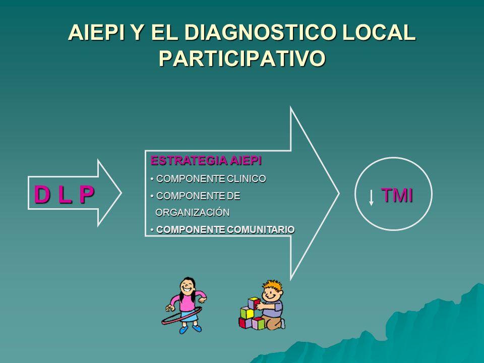 Diplomado en AIEPI -Huancavelica 15 al 18 de Julio 2009- AIEPI Comunitario: Diagnóstico Local Participativo Lic. Ana Quijano Calle