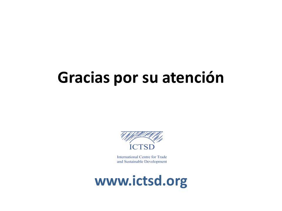 Gracias por su atención www.ictsd.org