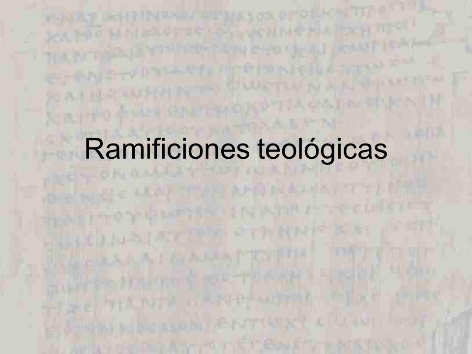 Ramificiones teológicas