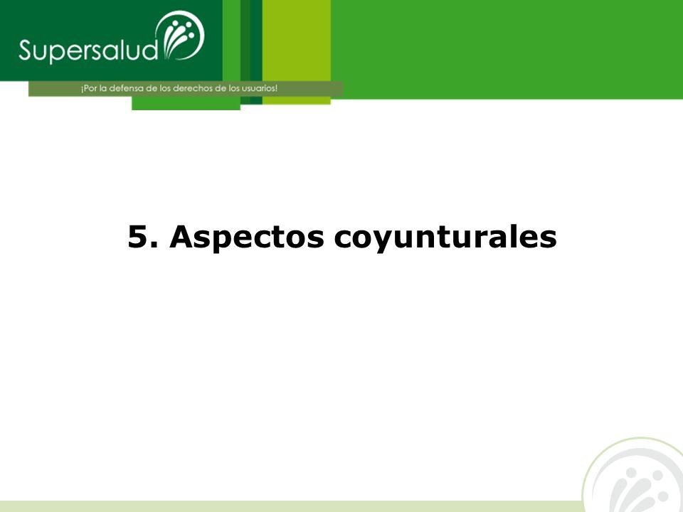 5. Aspectos coyunturales