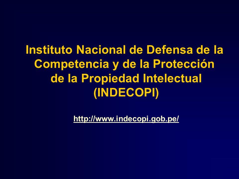 Instituto Nacional de Defensa de la Competencia y de la Protección de la Propiedad Intelectual (INDECOPI) http://www.indecopi.gob.pe/