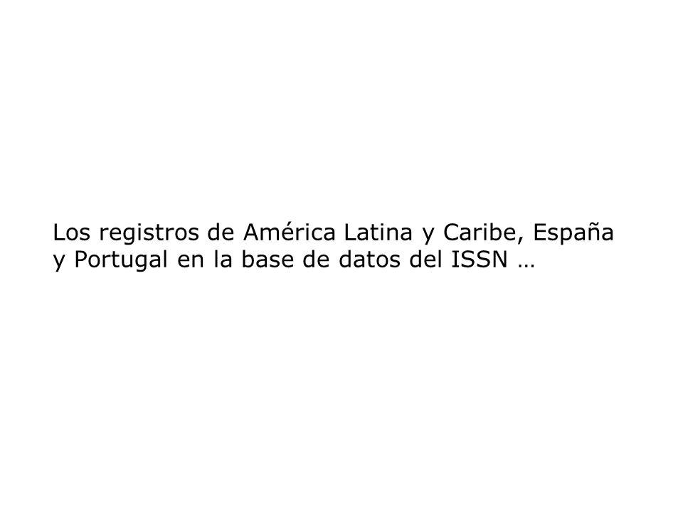 Títulos de AL&C indexados en la LILACS (2002) TOTAL de revistas indexadas 618 Brasil Argentina México Chile Colombia Perú Uruguay Jamaica Costa Rica Honduras EUA Paraguay Guatemala Ecuador Bolivia Venezuela Cuba