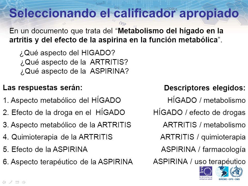 28 En un documento que trata del Metabolismo del hígado en la artritis y del efecto de la aspirina en la función metabólica. ¿Qué aspecto del HIGADO?