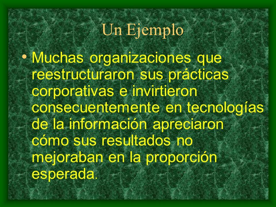 Las Organizaciones UN ESPACIO PRIVILEGIADO PARA AVANZAR EN LA CONVERGENCIA DE CIENCIAS AFINES AL CAMPO DE LA COMUNICACIÓN Y LA INFORMACIÓN