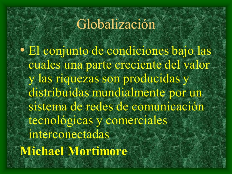 ¿Que Demandas Tratamiento de enormes volúmenes de información Información global e instantánea