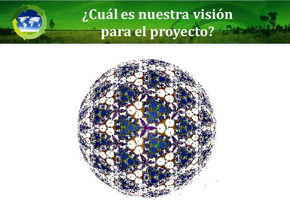 ¿Cuál es nuestra visión para el proyecto?