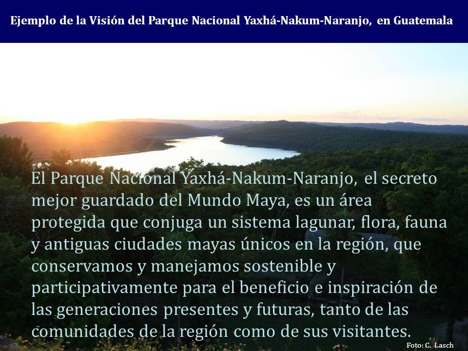 Ejemplo de la Visión del Parque Nacional Yaxhá-Nakum-Naranjo, en Guatemala Foto: C. Lasch El Parque Nacional Yaxhá-Nakum-Naranjo, el secreto mejor gua