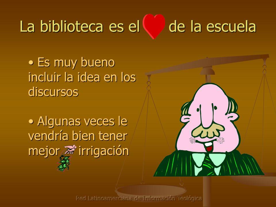 Red Latinoamerciana de Información Teológica La biblioteca es el de la escuela Es muy bueno incluir la idea en los discursos Es muy bueno incluir la i