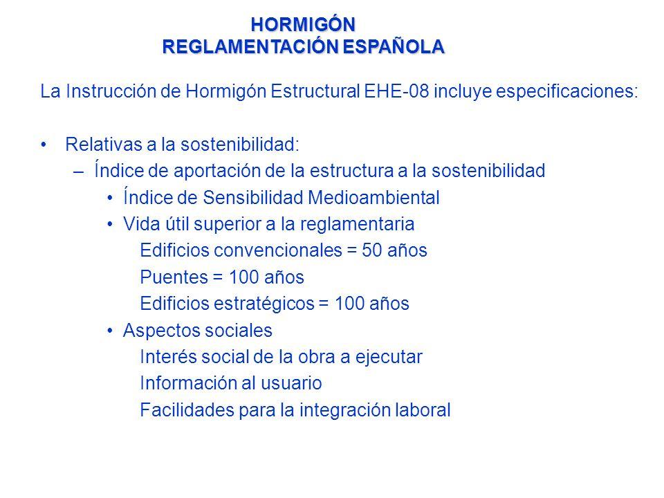 LOS DISTINTIVOS VOLUNTARIOS DE CALIDAD OFICIALMENTE RECONOCIDOS (DOR) EN LA INSTRUCCIÓN DE HORMIGÓN ESTRUCTURAL EHE - 08