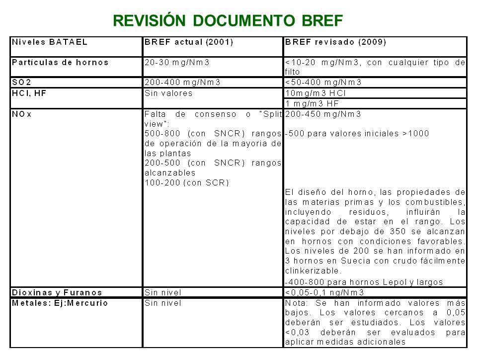 REVISIÓN DOCUMENTO BREF