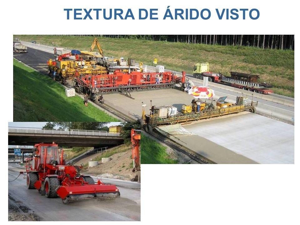 TEXTURA DE ÁRIDO VISTO