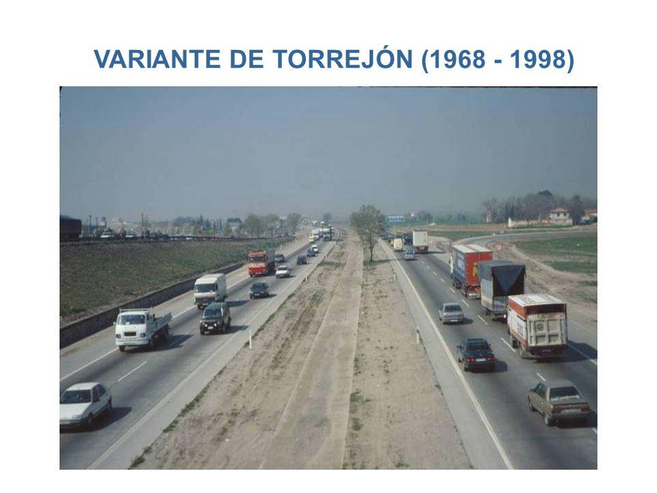 VARIANTE DE TORREJÓN (1968 - 1998)