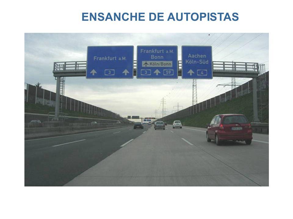 ENSANCHE DE AUTOPISTAS