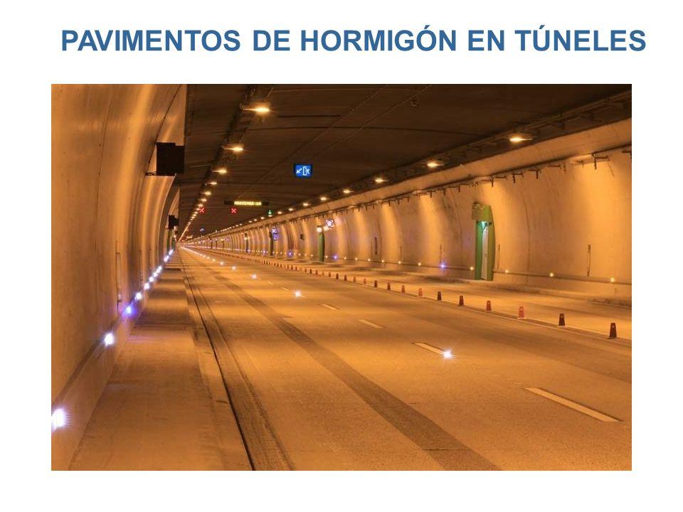 PAVIMENTOS DE HORMIGÓN EN TÚNELES
