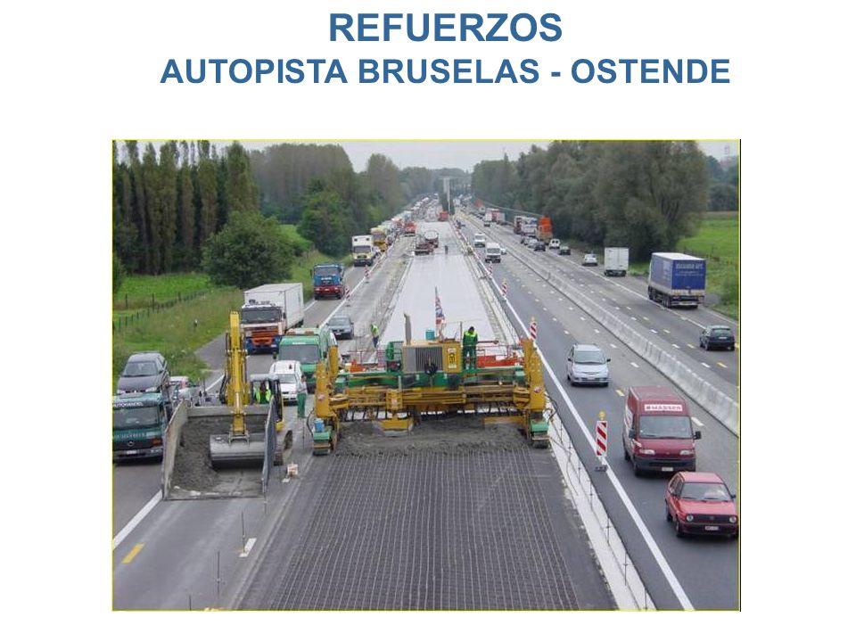 REFUERZOS AUTOPISTA BRUSELAS - OSTENDE
