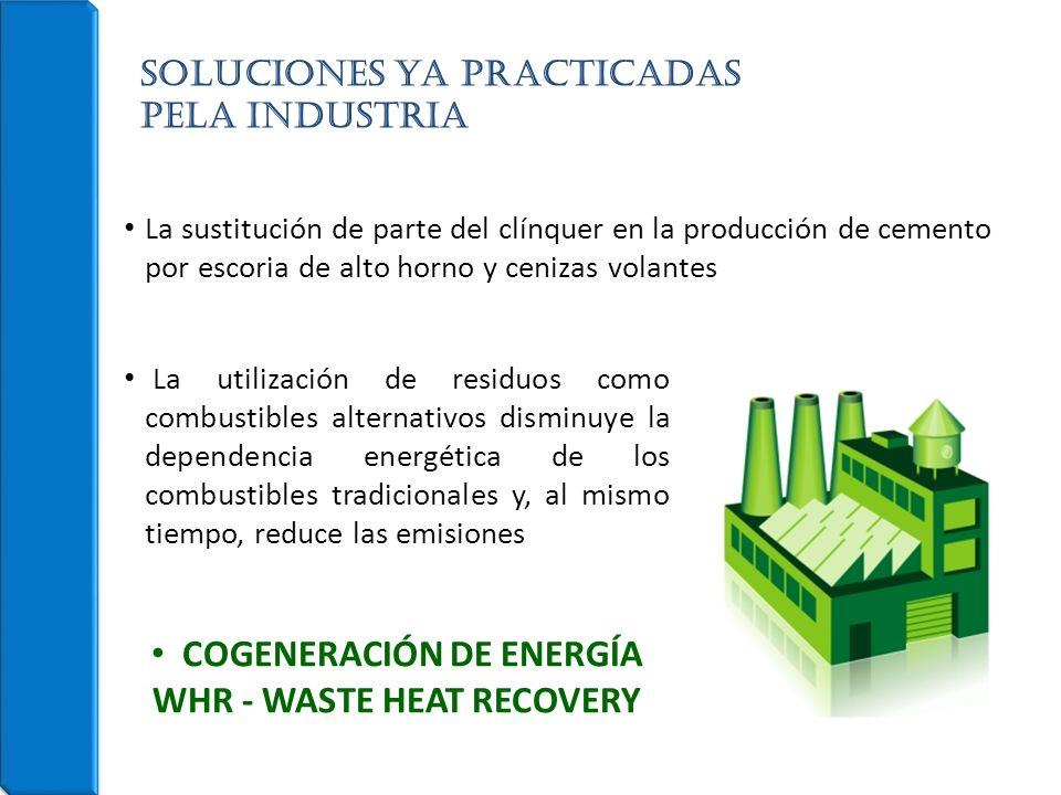 La sustitución de parte del clínquer en la producción de cemento por escoria de alto horno y cenizas volantes Soluciones ya PRACTICADAS pela industria