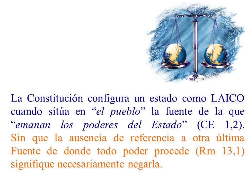 Conclusión del debate: ¿El Estado español es laico, es aconfesional.