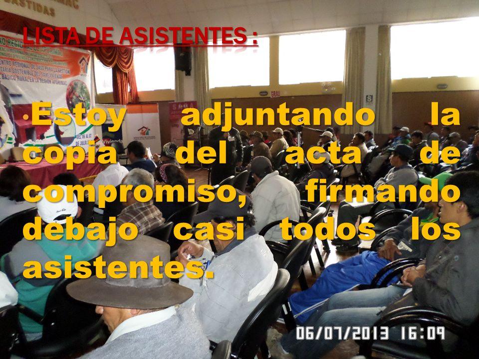 Elección de delegados que asistirán al encuentro nacional a desarrollar en la ciudad de Lima los días viernes 19 y 20 de Julio del presente año.