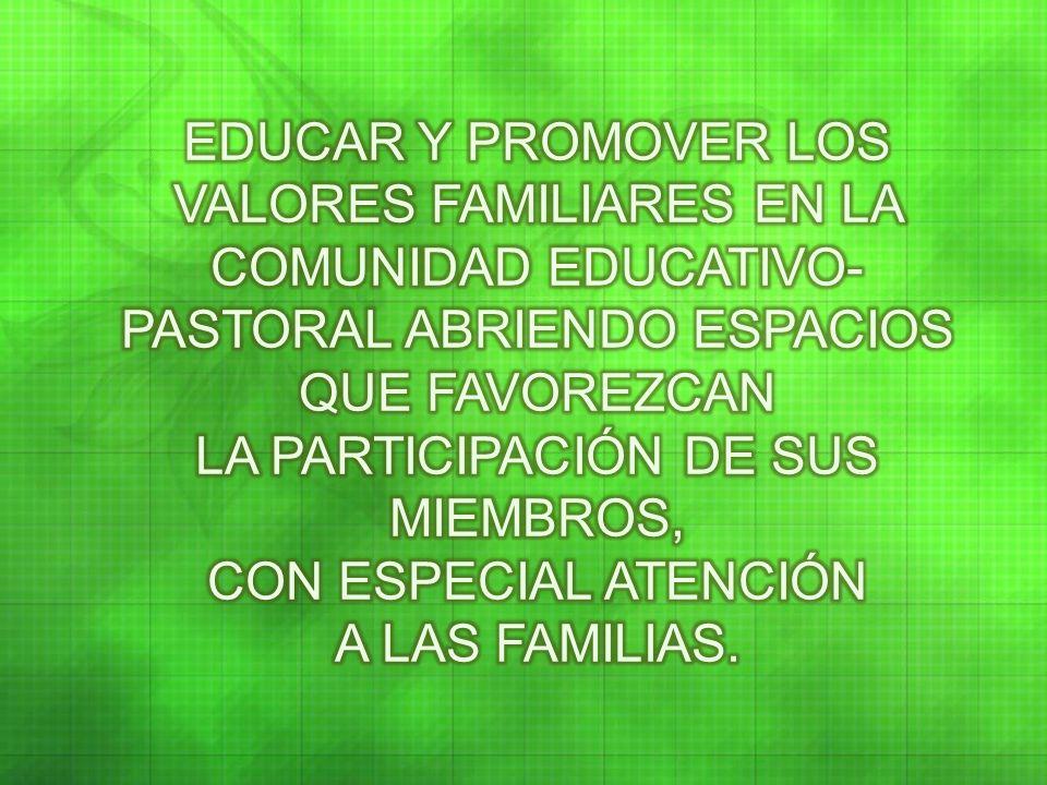 La familia, patrimonio de la humanidad, constituye uno de los tesoros más importantes de los pueblos latinoamericanos.