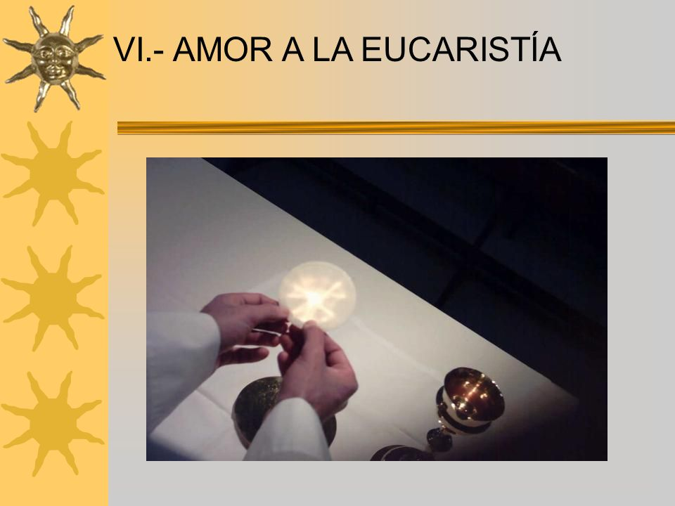 VIII.- ACTIVIDAD APOSTÓLICA