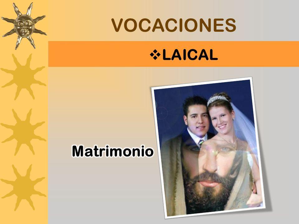 TRES VOCACIONES LAICAL MINISTERIO ORDENADO DE ESPECIAL CONSAGRACIÓN